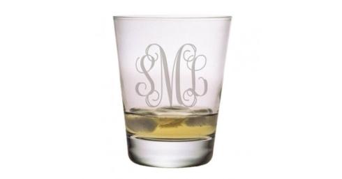 Susquehanna Glass   DOF 3 Letter Interlock set/4 SQG-018 $60.00
