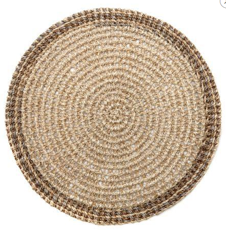 Natural Crochet Abaca Mat DRH-187 collection with 1 products