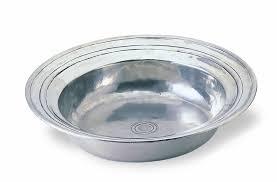 $410.00 Round Incised Lg Bowl MTH-188