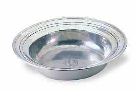 $410.00 Round Incised Lg Bowl MTH-188