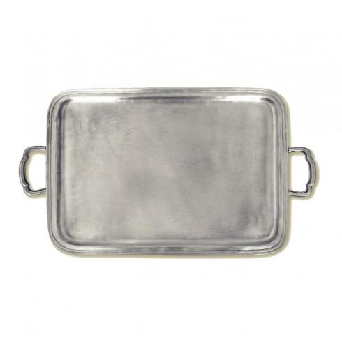 $590.00 Rect Tray w/ Handles MTH-186