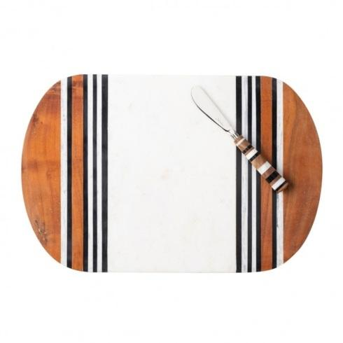 Babcock Exclusives  Juliska Stonewood Stripe Serving Board w/Spreader JSK-008 $195.00