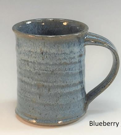 Babcock Exclusives  Steve Tubbs Pottery Blueberry Large Mug 14oz. STP-132 $22.00