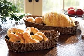 Calaisio   Large Oval Bread Basket W/Edge CAL-159 $70.00