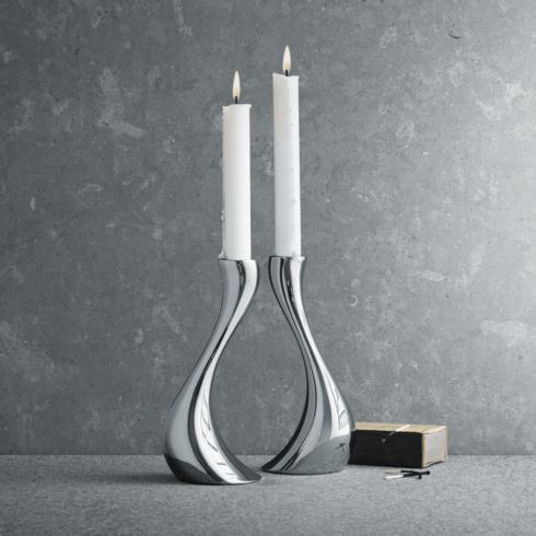 $165.00 Cobra Medium Candleholder Pair GJ-015