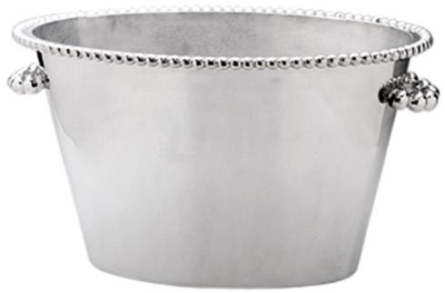 Mariposa   Pearled Double Ice Bucket MAR-396 $325.00