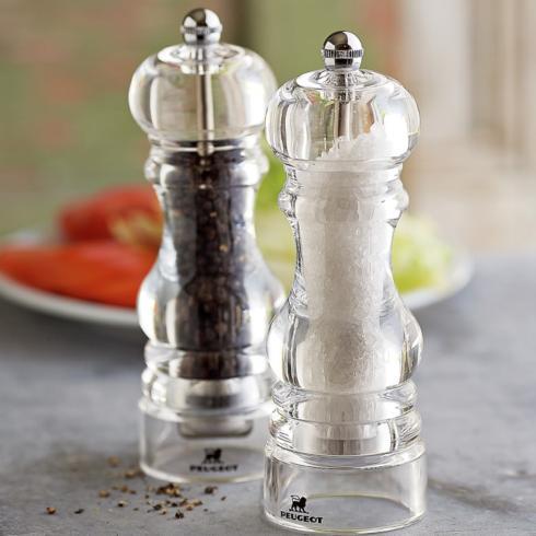 """Peugeot   Nancy Acrylic Salt Mill 7"""" PGT-030 $38.00"""