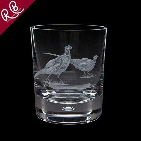 Babcock Exclusives  Royal Brierly English Game Pheasant Tumbler RBC-205 $125.00