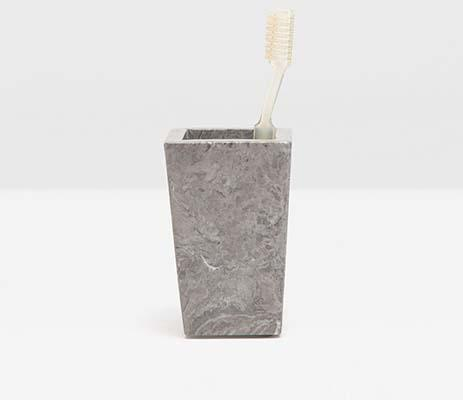 Pigeon & Poodle   Veneto Gray Brush Holder PGP-212 $52.00