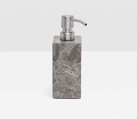 $103.00 Veneto Gray Square Soap Pump PGP-219
