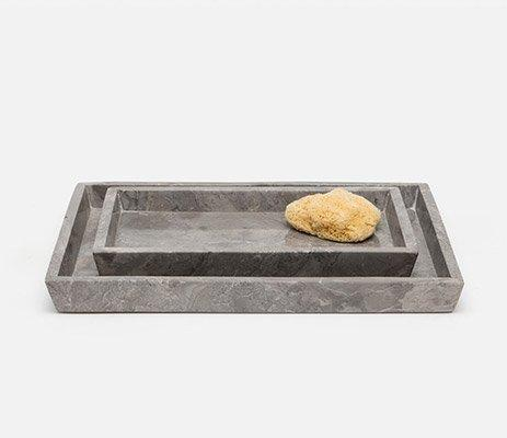 Pigeon & Poodle   Veneto Gray Large Tray PGP-214 $112.00