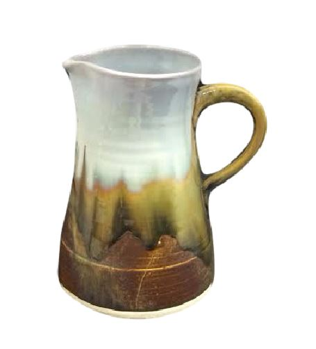 Alison Evans  Abalone & Tortoise Pitcher AEC-048 $177.00