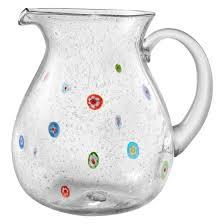 Artland   Fiore clear pitcher $29.00