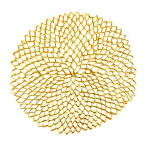 Chilewich   Dahlia Gold Mat CWH-023 $10.50