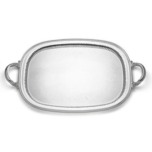 Babcock Exclusives  Reed & Barton Burgundy Waiter Tray SSC-135 $450.00