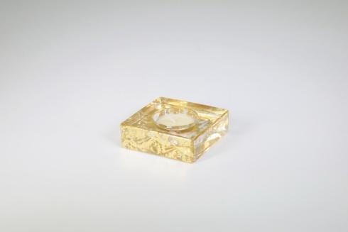 Tamara Childs   Square Tea Light Gold Wabi Sabi TCH-179 $26.50
