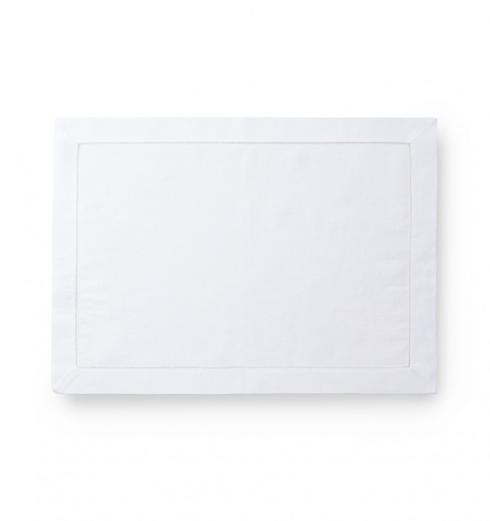 $19.25 Classico White Placemat Oblong SF-036