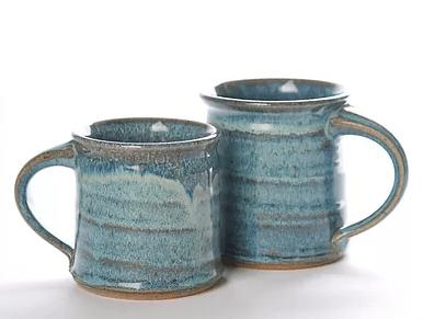 Babcock Exclusives  Steve Tubbs Pottery Sea Spray Opal Large Mug 14oz. STP-108 $22.00