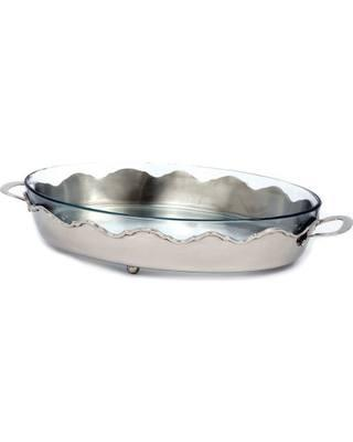 Star Home   Crown Collection Oval Server STH-009 $88.00