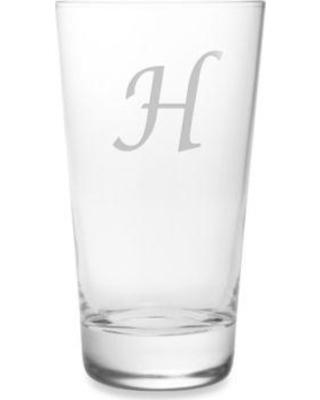 Susquehanna Glass   Hiball 1 Letter Script set/4 SQG-027 $60.00