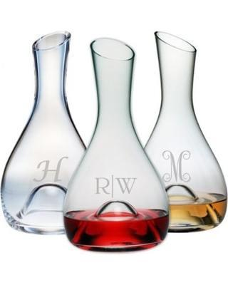 Susquehanna Glass   Punted Carafe 1 Letter Dot SQG-186 $60.00