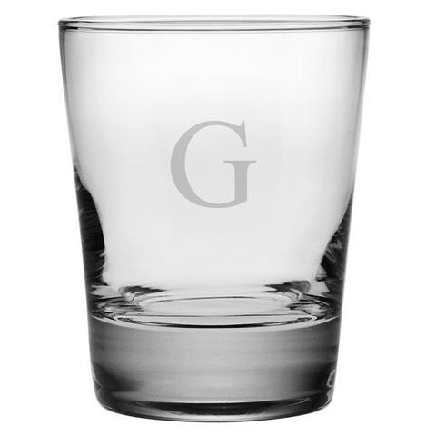 Susquehanna Glass   DOF 1 Letter Block set/4 SQG-013 $60.00
