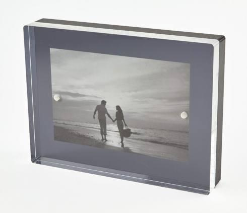 $81.00 Black Lucite Frame 5x7 TIZ-277