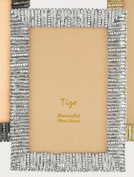 Tizo Designs   8x10 Hedge Silver Jewel Frame TIZ-105 $149.50