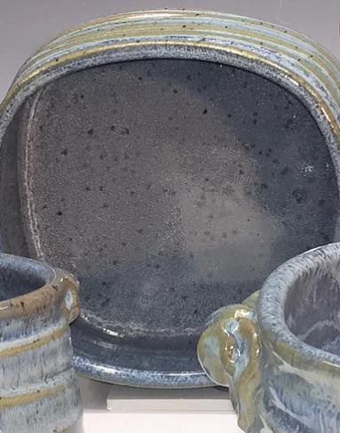 Babcock Exclusives  Steve Tubbs Pottery Blueberry Medium Rectangular Baker STP-131 $57.00