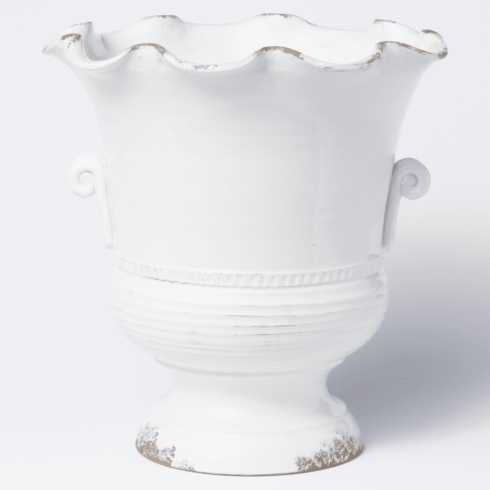 Babcock Exclusives  Vietri RGA White Scallop Footed Planter VIY-996 $348.00