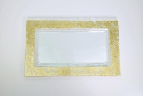 """$154.00 21"""" Gold Wabi Sabi Serving Tray TCH-219"""