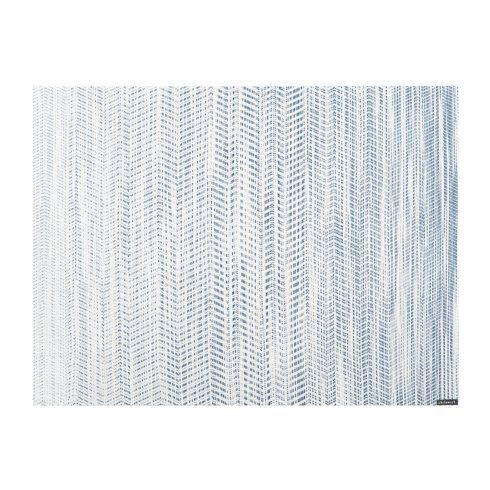 Chilewich   Wave Blue Rect Mat CWH-050 $15.00