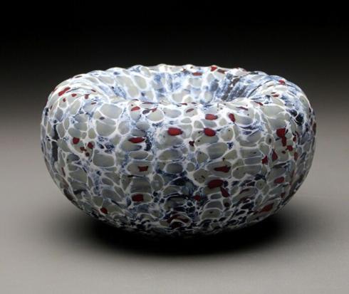 Babcock Exclusives  Thomas Spake Studios Small Treasure Bowl White TSS-001 $66.00