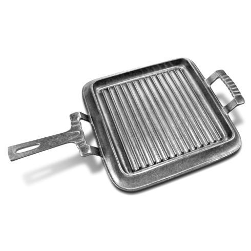 Wilton Armetale  Gourmet Grillware Square Grill Pan w/Handle WLT-158 $66.00