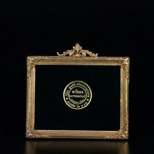 $106.00 American Rectangular 4 1/4 x 4 Frame - Gold