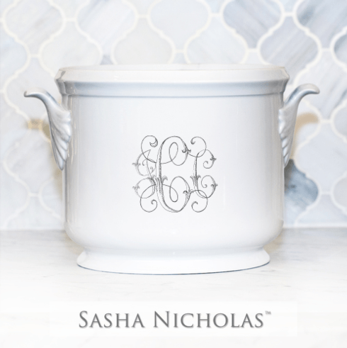 Sasha Nicholas  Custom Pieces Custom JCC Ice Bucket $185.00