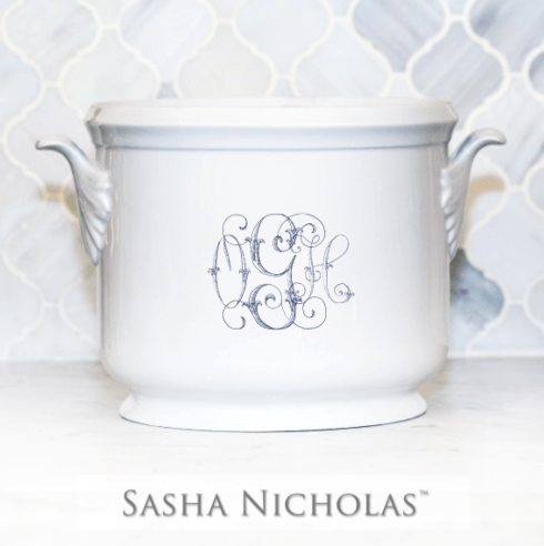 Sasha Nicholas  Custom Pieces Custom OGH Ice Bucket $185.00