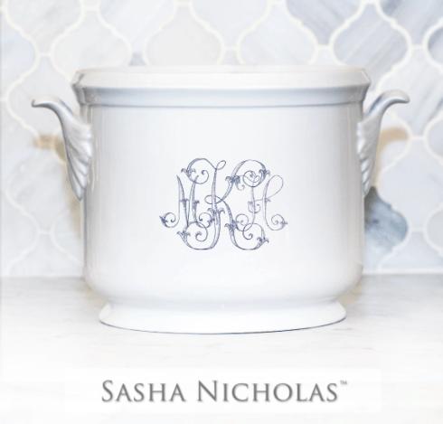Sasha Nicholas  Custom Pieces MKH Ice Bucket $185.00