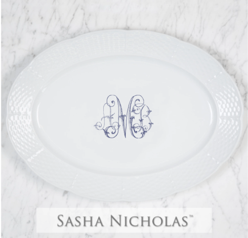 $172.00 AMB Oval Platter
