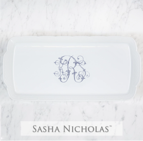 Sasha Nicholas  Custom Pieces KRS Rectangular Platter $158.00