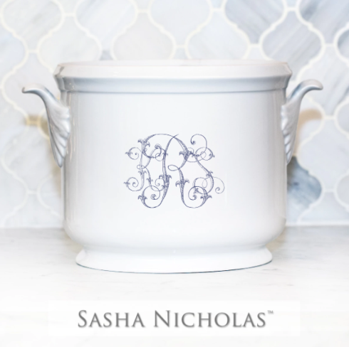 Sasha Nicholas  Custom Pieces KRS Champagne Bucket $185.00