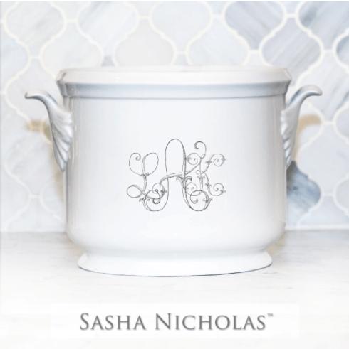 Sasha Nicholas  Custom Pieces LAK Champagne Bucket $185.00
