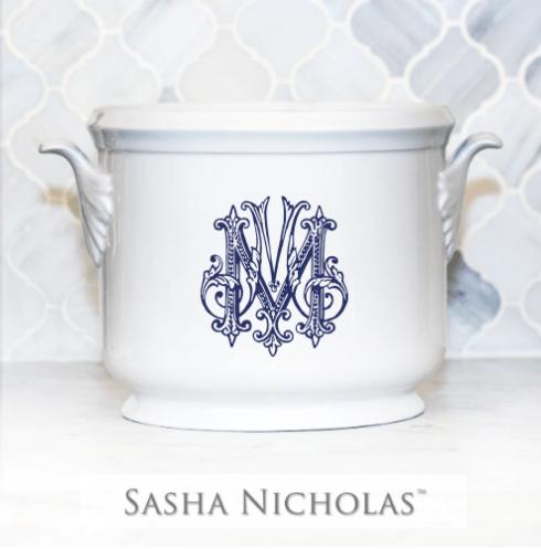 Sasha Nicholas  Custom Pieces Custom Morrow Champagne Bucket $185.00