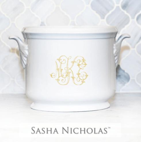 Sasha Nicholas  Custom Pieces Kanady Custom Champagne Bucket $195.00
