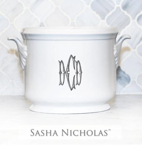 Sasha Nicholas  Custom Pieces Crook Custom Champagne Bucket $185.00
