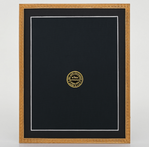 Elias Artmetal   Greek Key Gold 5x7 Frame $131.00