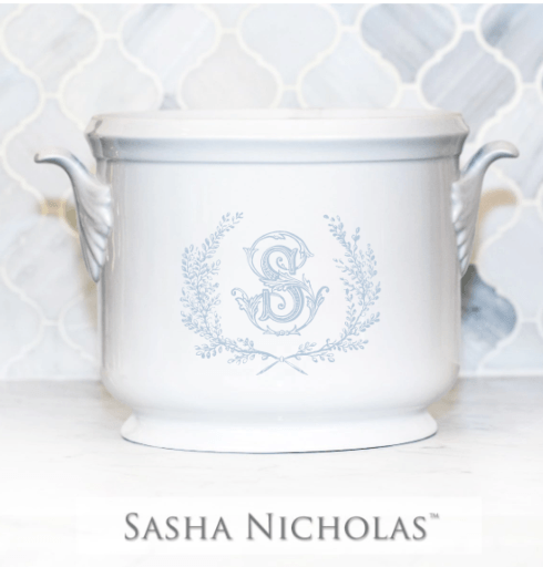 Sasha Nicholas  Custom Pieces Scambler Custom Champagne Bucket $195.00