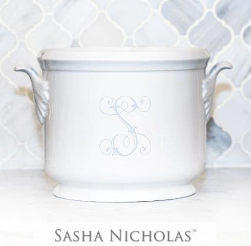 Sasha Nicholas  Custom Pieces Shoemaker Custom Champagne Bucket $185.00