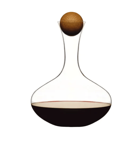BC Clark Exclusives   Sagaform Oval Oak Wine Carafe $54.00