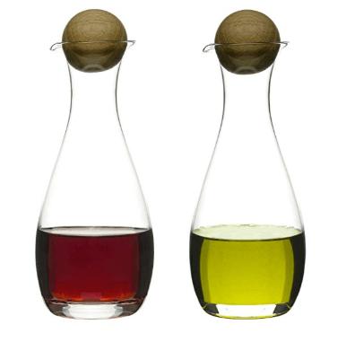 BC Clark Exclusives   Sagaform Oval Oak Oil Bottles  $42.00